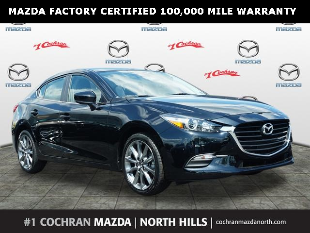 Certified Pre-Owned 2018 Mazda3 Touring Base