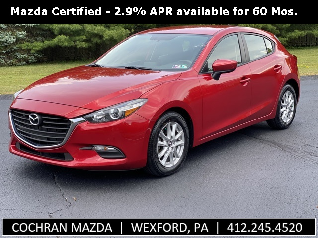 Certified Pre-Owned 2017 Mazda3 Sport w/ Apple Carplay & Android Auto