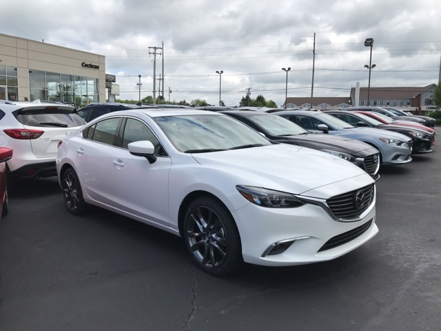 new 2017 mazda mazda6 grand touring grand touring 4d sedan in wexford nm17169 cochran mazda. Black Bedroom Furniture Sets. Home Design Ideas