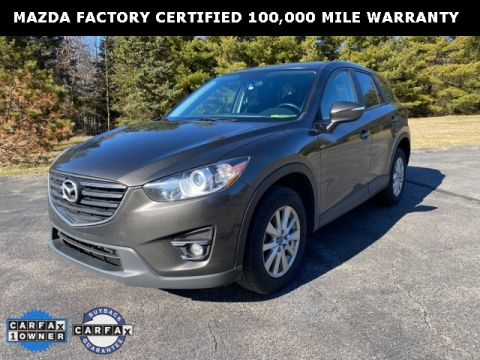 Certified Pre-Owned 2016 Mazda CX-5 Touring w/ Bose & Moonroof Package