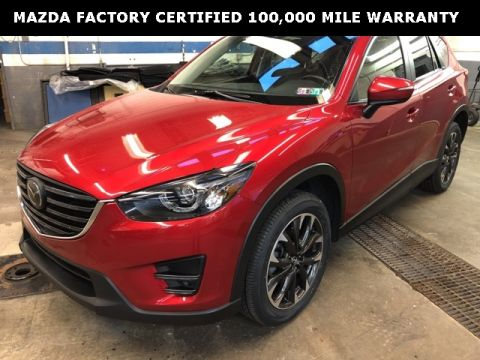 Certified Pre-Owned 2016 Mazda CX-5 Grand Touring w/ i-ACTIVSENSE Package