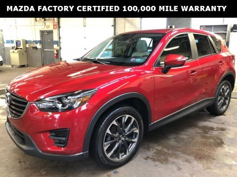Certified Pre-Owned 2016 Mazda CX-5 Grand Touring w/ Tech Package